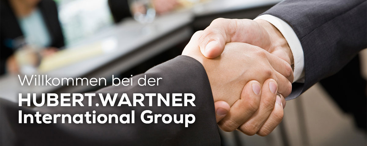 Willkommen bei der Hubert Wartner International Group